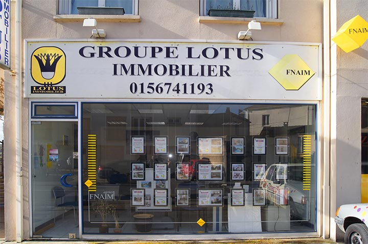 L'agence Lotus Immobilier